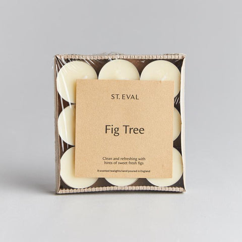 St Eval Scented Tealights-Fig Tree