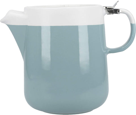 KC Retro Blue 4 Cup 1.2L Teapot - Barcelona