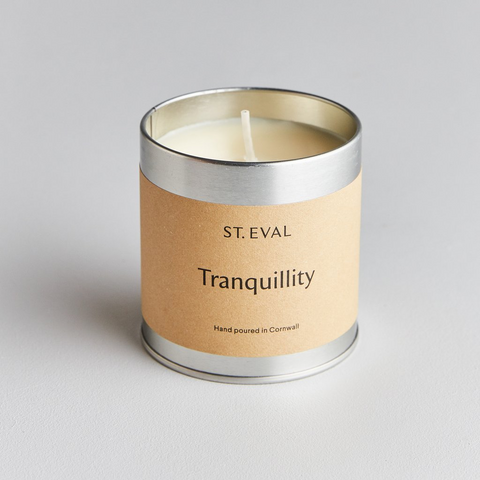 St Eval Scented Tin Candle-Tranquility