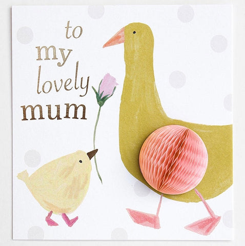 CG To My Lovely Mum Card