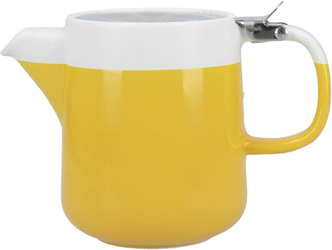 KC Mustard Two Cup 420ml Teapot - Barcelona