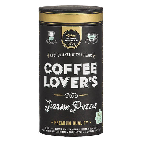 W&W Coffee Lovers Jigsaw Puzzle-Tube
