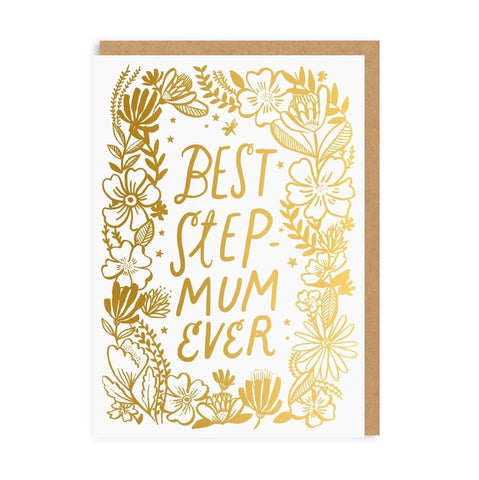 OD Best Step-mum Ever Card