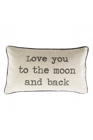 S&B Love You to the Moon and Back Cushion
