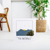 OUAD Wood Print - There's No Place Like The Mournes