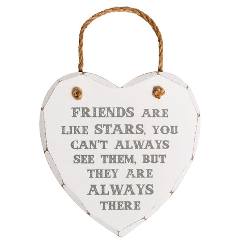 S&B Friends Are Like Stars Plaque