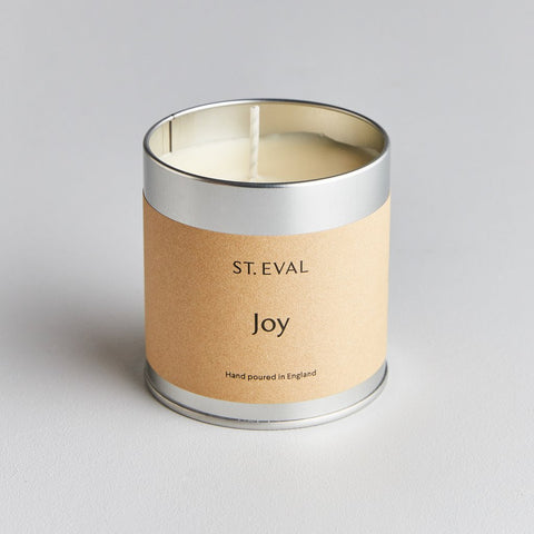 St Eval Scented Tin Candle-Joy