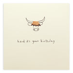 Ruth Jackson Herd It's Your Birthday Card