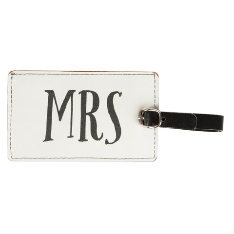 S&B Mrs Luggage Tag