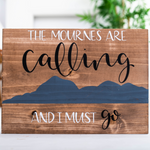 OUAD Wood Print - The Mournes Are Calling