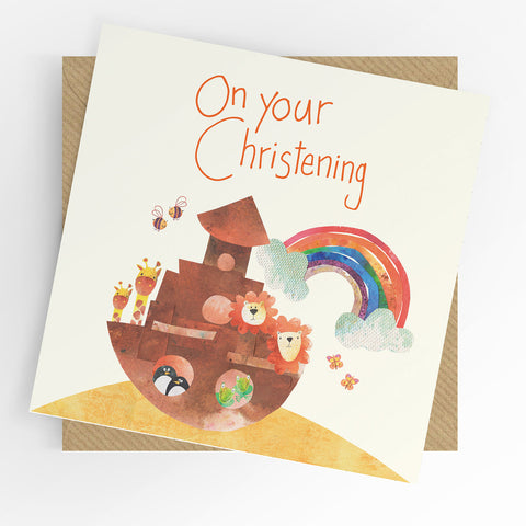 UTWT On Your Christening Card