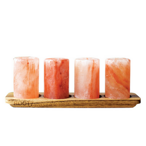 RT7 Himalayan Salt Shot Glasses 4 PK