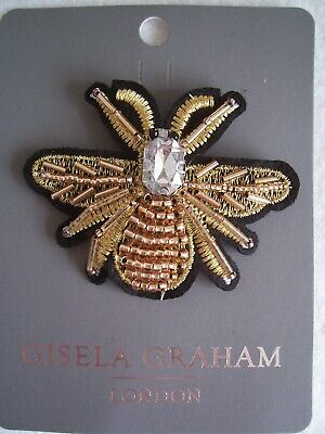 GG Jewelled Bee Brooch-LRG