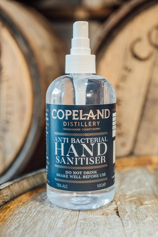 Copeland Distillery Hand Sanitiser 500ml Spray