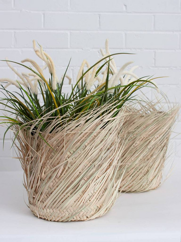 Bohemia Design Fringed Storage Basket
