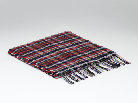 McNutt Lambswool Scarf - Cranford Mini Check