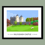 James Kelly Print-Killyleagh Castle