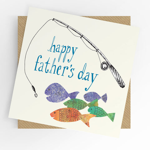 UTWT Happy Father's Day Fishing Card