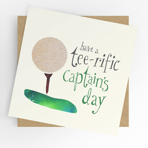 UTWT Have A Tee-rific Captain's Day Card