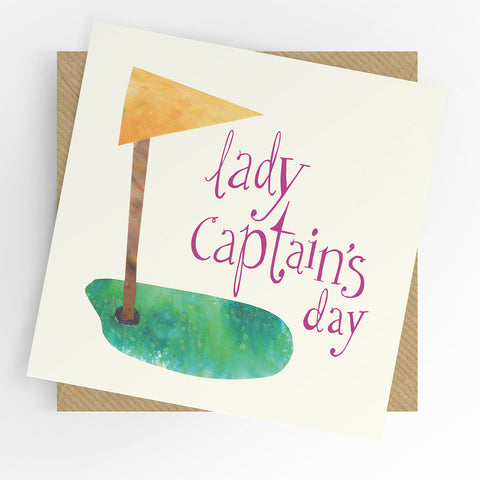 UTWT Lady Captain's Day Card