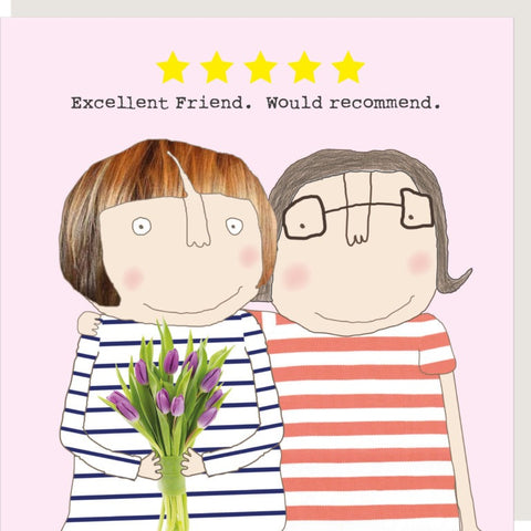 RMT Excellent Friend Card