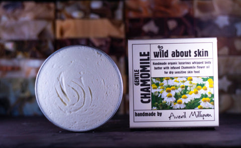 Wild About Soap Body Butter-Gentle Chamomile 80g