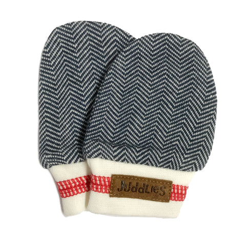 KC Cottage Scratch Mitts - Lake Blue