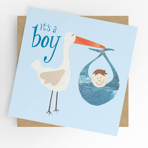 UTWT It's A Boy Card