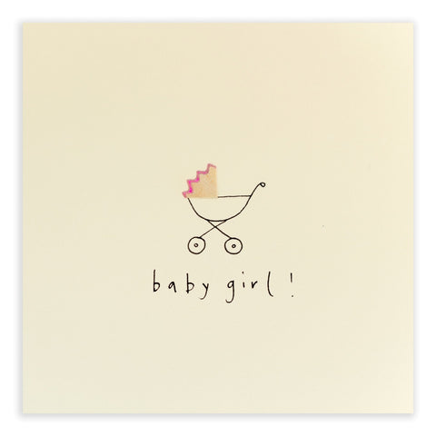 Ruth Jackson Baby Girl Card