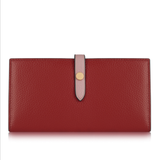 Italian Leather Purse-Red Rose