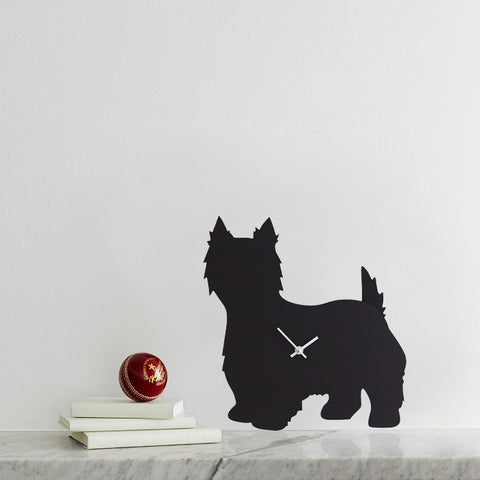 LC West Highland Terrier Clock