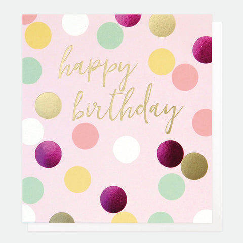 CG Happy Birthday Pink Card
