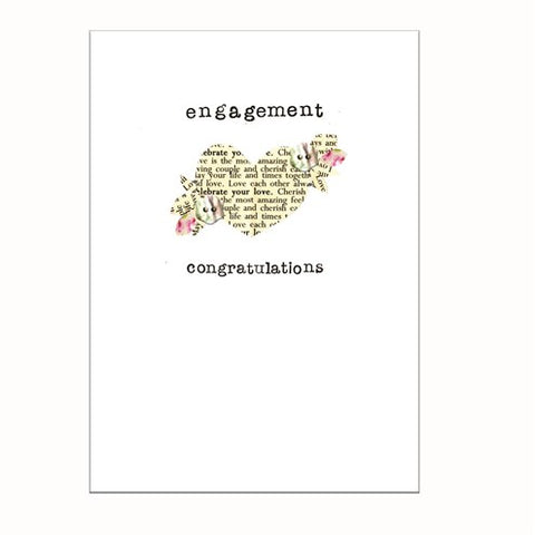Laura Sherratt Engagement Card