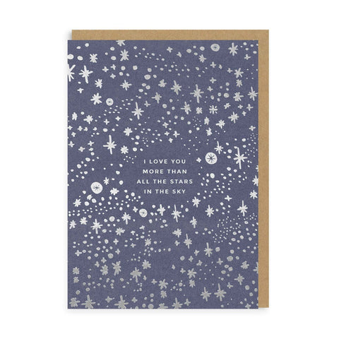 OD I Love You More Than All The Stars Card