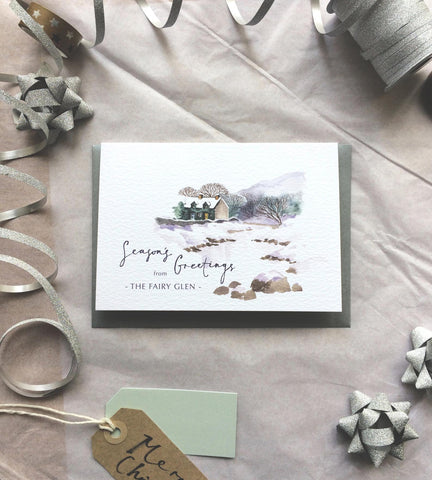 PC The Fairy Glen Christmas Card