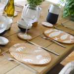 Liga Cork Placemats/Coasters-Fish WHT