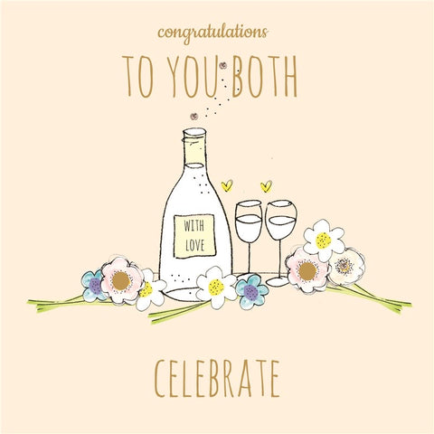 Laura Sherratt Congratulations to You Both Card