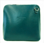 Vera Pelle Crossbody Bag-Dark Teal