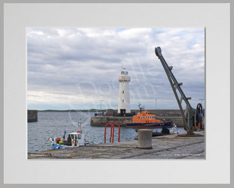 PRM Mounted Photo Print-Donaghadee Harbour, NI