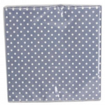 GG Pack 20 Paper Napkins-Blue/White Dots