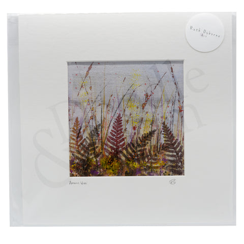 Ruth Osborne Unframed Original - Autumn Wilds