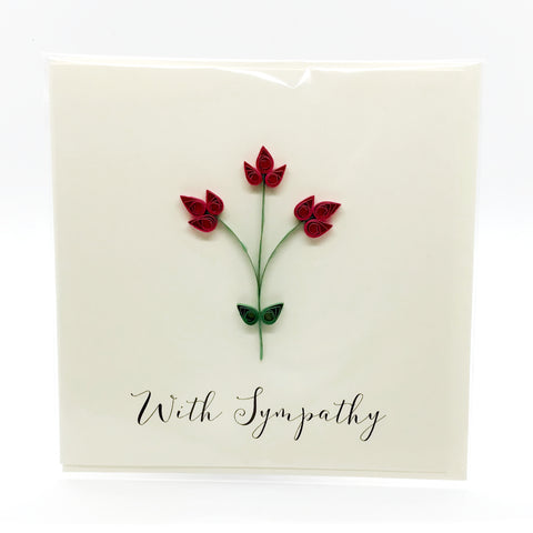 Luminosity With Sympathy Card