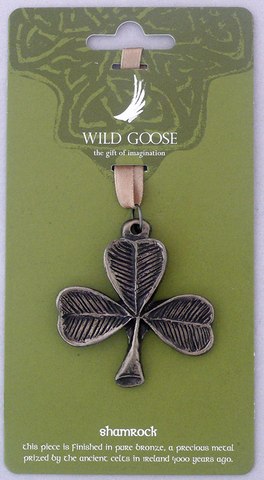 WGS Bronze Hanging Decoration Shamrock
