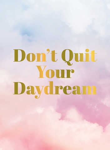 SBK Don't Quit Your Daydream Book