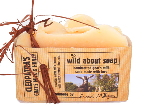 Wild About Soap-Cleopatra's Goats Milk & Honey