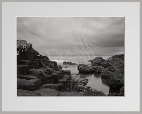 PRM Mounted Photo Print-Giant's Causeway, NI