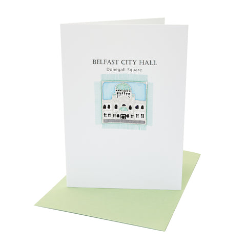 AO Greetings Card - Belfast City Hall
