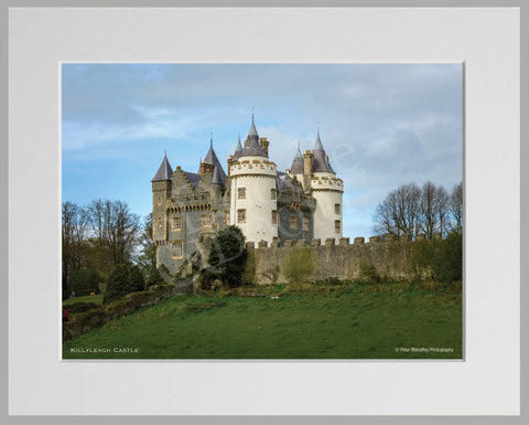 PRM Mounted Photo Print-Killyleagh Castle, NI