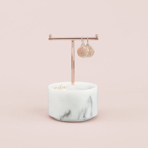 Stackers Small Marble T Bar Jewellery Stand