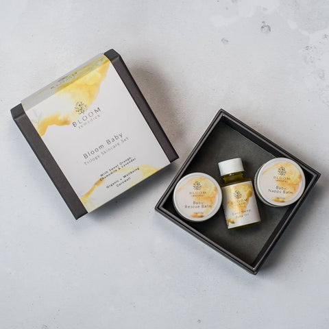 Bloom Remedies Bloom Baby Trilogy Skincare Set